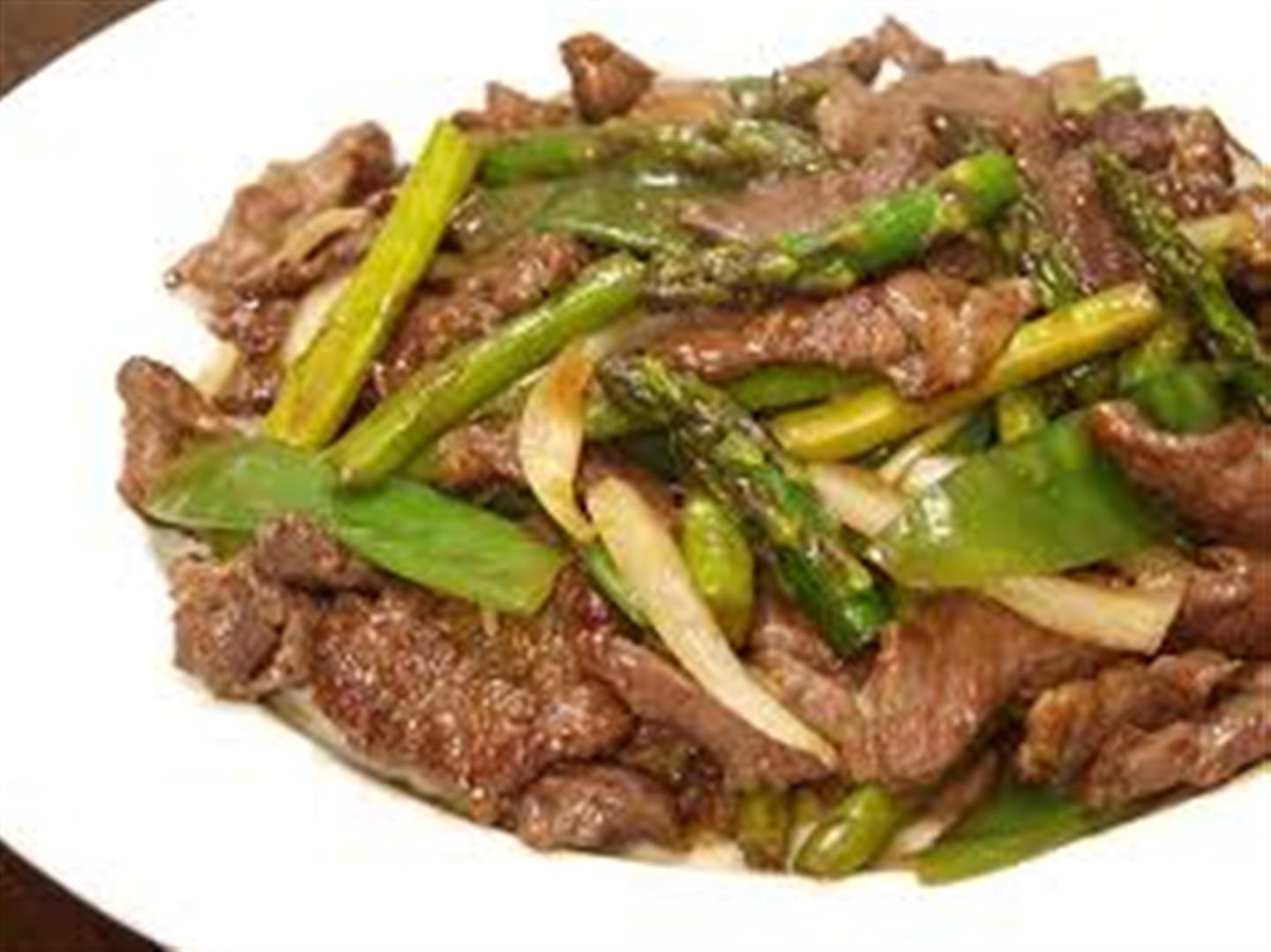 Filipino Style Beef & Asparagus Stir-Fry Recipe ...