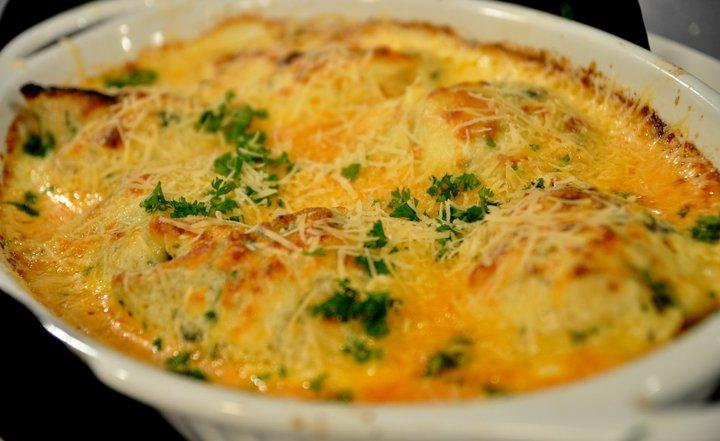 Herb seafood crepe casserole recipe panlasang pinoy recipes for Fish casserole recipes