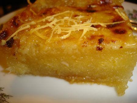 Filipino Cassava Cake Recipe Philippines