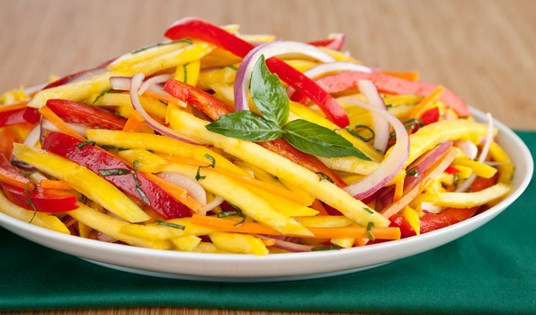 Green Mango Salad Recipe | Panlasang Pinoy Recipes