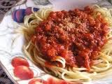 Ispagheti, Manok at Paprika