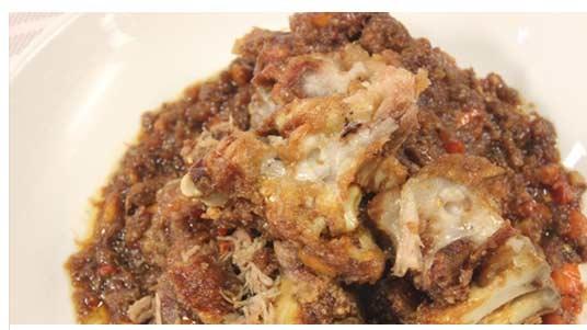 Crispy Binagoongang Pata