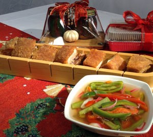 Roasted Lechon Kawali and Bottled Pickled Peppers Recipe