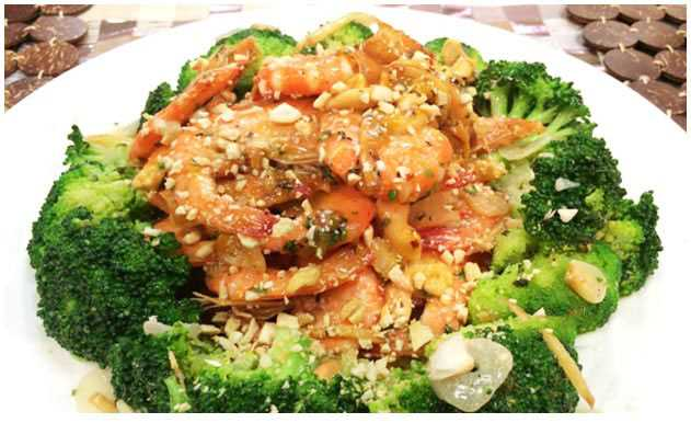 Stir-fried Shrimp with Cashew Nuts Recipe | Panlasang Pinoy Recipes
