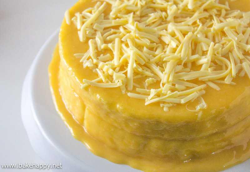 Easy Yema Cake Recipe