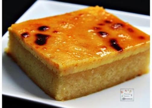 Cassava Cake with Creamy Custard Topping Recipe ...