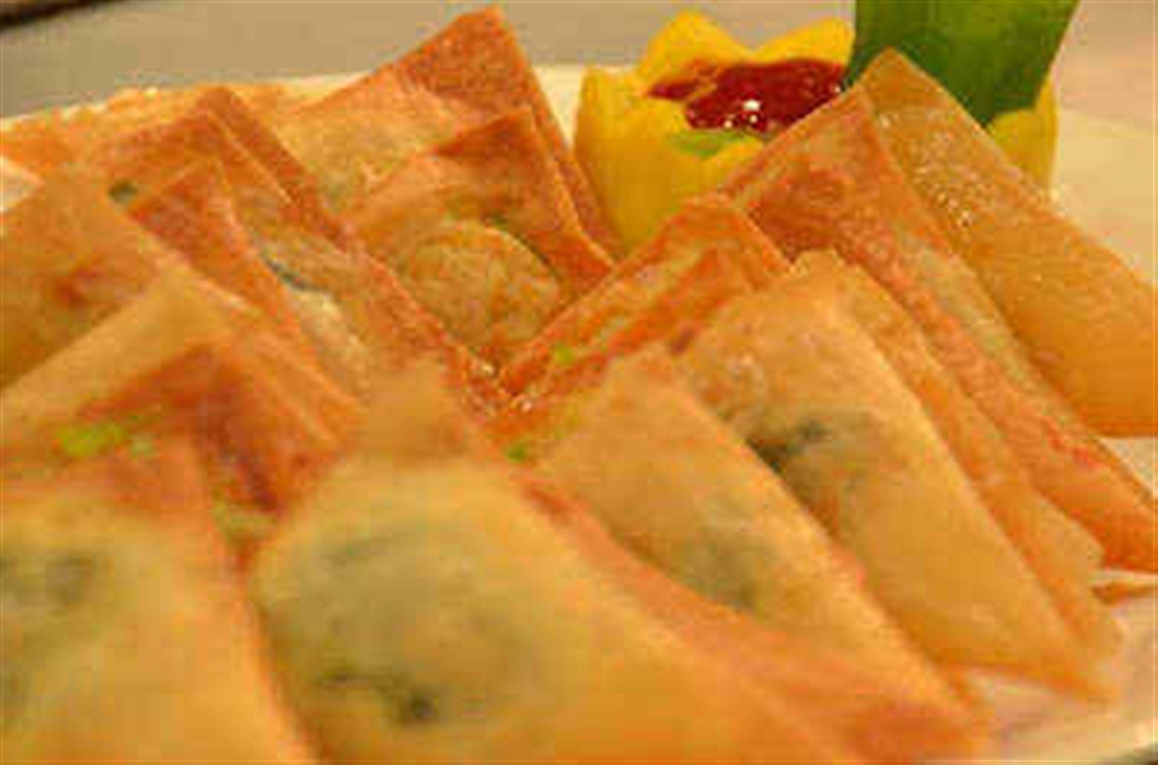 Lumpia Triangle Recipe by Chef Boy Logro