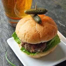 Baked Beer Burgers Recipe