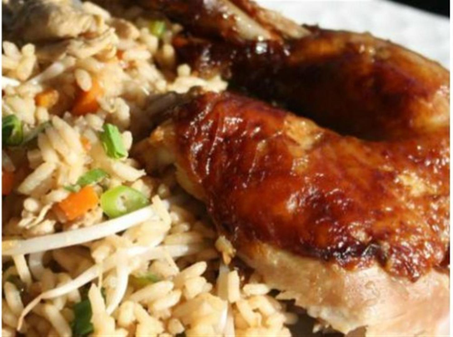 Roasted chicken with caribbean fried rice recipe panlasang pinoy roasted chicken with caribbean fried rice recipe panlasang pinoy recipes ccuart Gallery