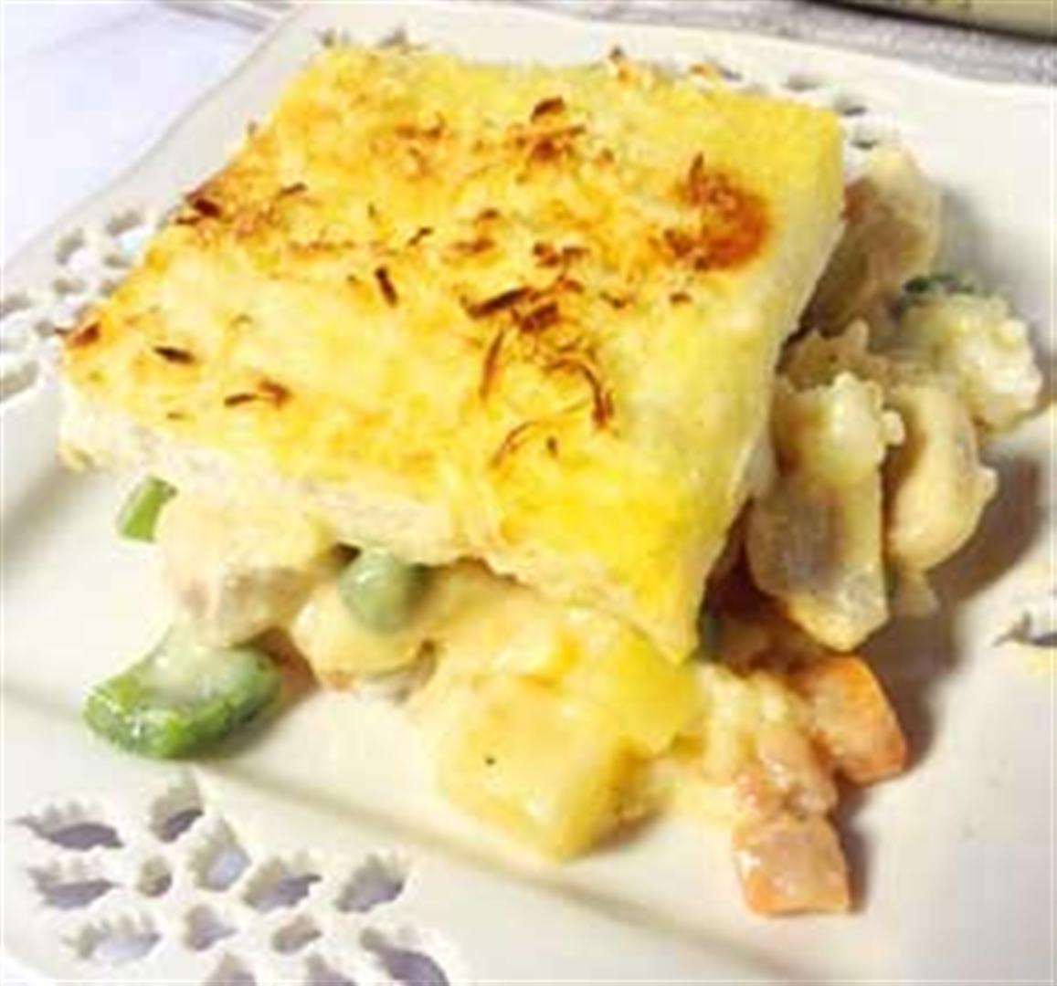 Baked cheesy chicken pastel recipe panlasang pinoy recipes forumfinder Gallery