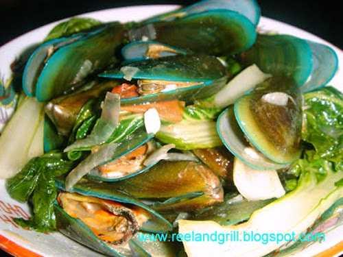 Ginisang Tahong Sauteed Mussels Panlasang Pinoy Recipes
